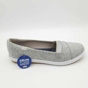 Keds Carmel Jersey Slip On Sneakers Shoes 8.5 New